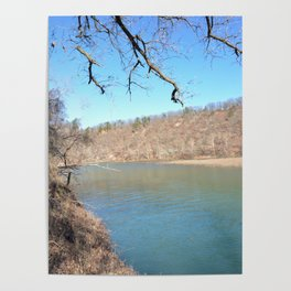 Home of Ancient Hunter-Gatherers --- The Illinois River, No. 5 Poster