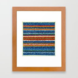 African American Masterpiece 'Night blue Nursery'' by Alma Thomas Framed Art Print