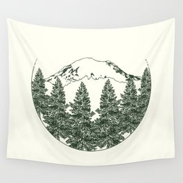 Mt. Rainier Wall Tapestry
