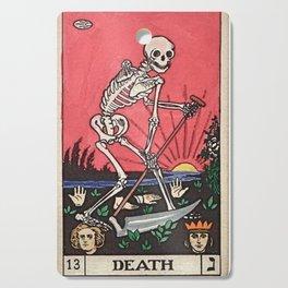 Death Tarot Cutting Board