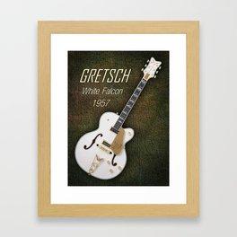 Gretsch  White Falcon 1957 Framed Art Print