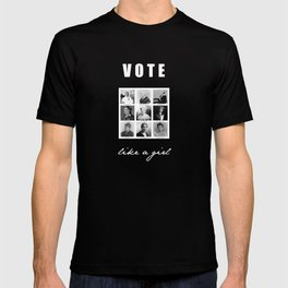 Vote like a Girl T-shirt