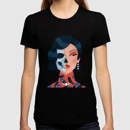 Chinese zombie woman T-shirt