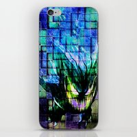gengar iPhone & iPod Skins featuring Gengar Blix by Angela Chevelle