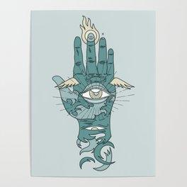 Sacred Hand Poster