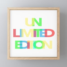Unlimited Edition Framed Mini Art Print