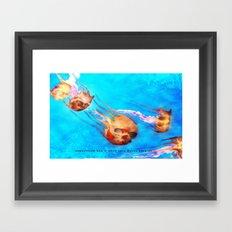 SKULLYFISH 002 Framed Art Print
