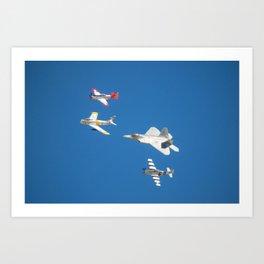 2014 Heritage Flight Art Print