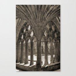 Canterbury Cathedral - England Canvas Print