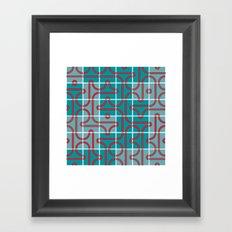 Maze Framed Art Print