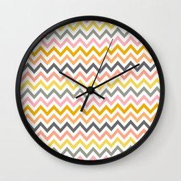 Emma's Chevron Wall Clock