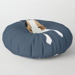 Copper Howl Floor Pillow