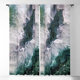 Amethyst Abstract Blackout Curtain
