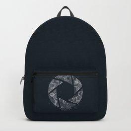 Traveling Lens (Dark Blue) Backpack