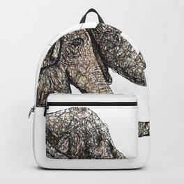 Couple of elephants Backpack