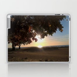 Nine Oclock Sunrise Kenosha Laptop & iPad Skin