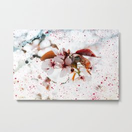 Splash of Spring Metal Print