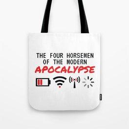 The Four Horsemen Of The Modern Apocalypse Tote Bag