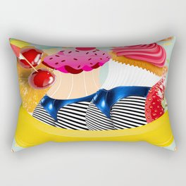 bananasplit Rectangular Pillow