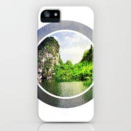 Trang An Ninh Binh Vietnam Landscape iPhone Case