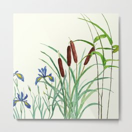 pond-side elegance Metal Print