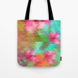 Exotic Triangles Tote Bag