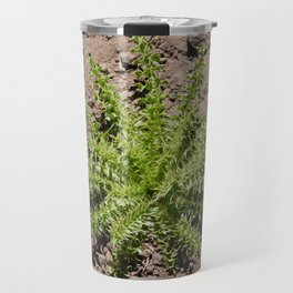 roar trip, green plant, greenery, plants, pokey, stickery, high altitude Travel Mug