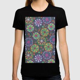 Jewel Tone MargueritesDaisies & Dots T-shirt