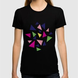 Colorful geometric pattern VIV T-shirt