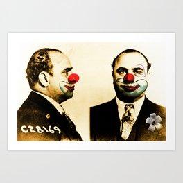 LOL Capone Art Print