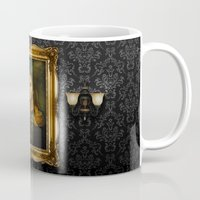 tim shumate Mugs featuring Tim Minchin - replaceface by replaceface