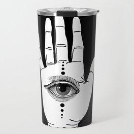 Hamsa Horus Travel Mug
