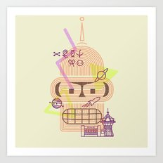 Welcome to the World of Tomorrow Art Print