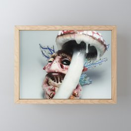 Berty the goblin Framed Mini Art Print