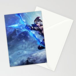 Classic Ashe League of Legends Stationery Cards