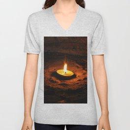 Light of hope Unisex V-Neck