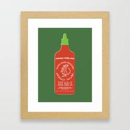Pass The Yamok Sauce (Opaque Red Ver) Framed Art Print