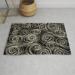 Currents of thought Rug