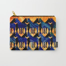 Dancing Horses Carry-All Pouch