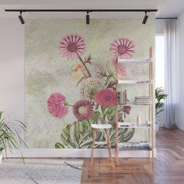 Life is a marvellous garden Wall Mural