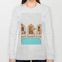 Turkish Holiday #painting #travel Long Sleeve T-shirt