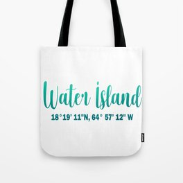 water island Tote Bag