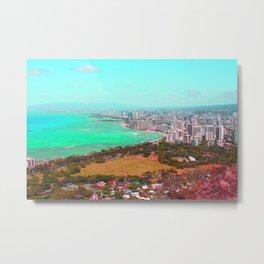 City colors Metal Print