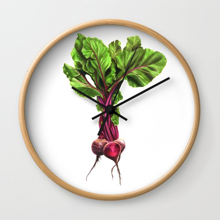 Beets Wall Clock