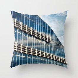Office building Throw Pillow