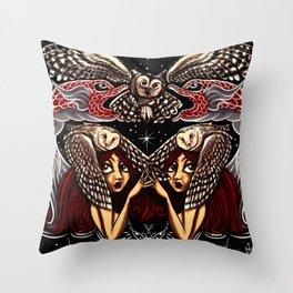 Strix Throw Pillow