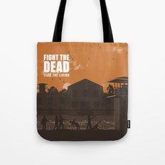 The Walking Dead Prison Walkers Tote Bag