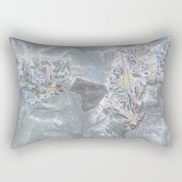 Alpine Meadows & Squaw Valley Trail Map Rectangular Pillow