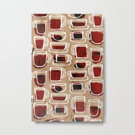 morning pattern Metal Print