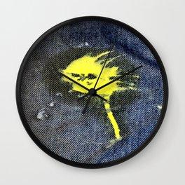 Paintball Hit Wall Clock